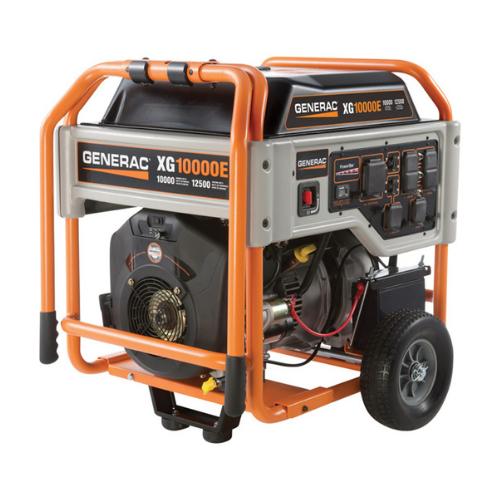 Generac 10,000 Watt Portable Generator With 10 Gallon Fuel Tank