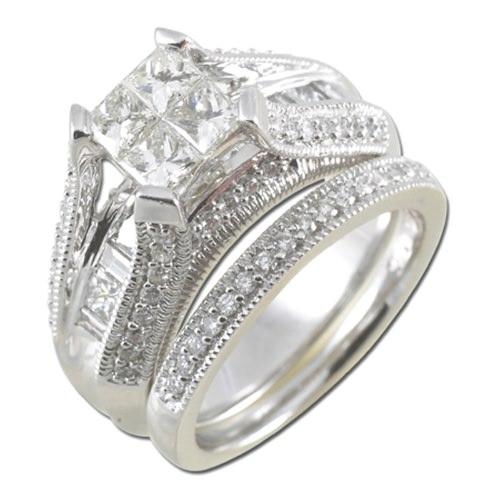 White Gold Bridal Ring